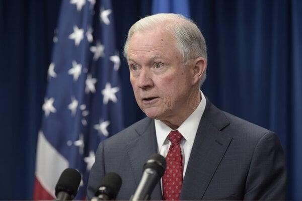 Americký šéf spravodlivosti Sessions.