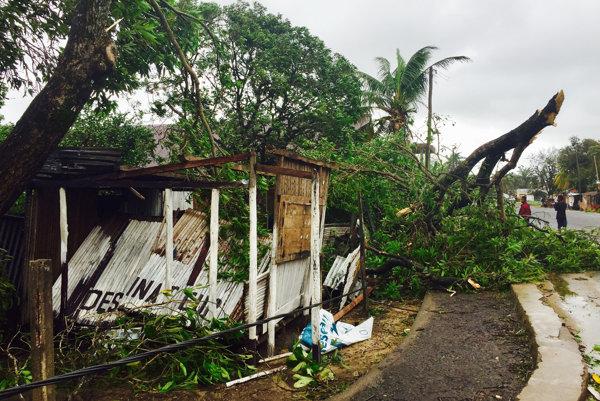 Cyklón na Madagaskare zabíjal aj vlani v marci.