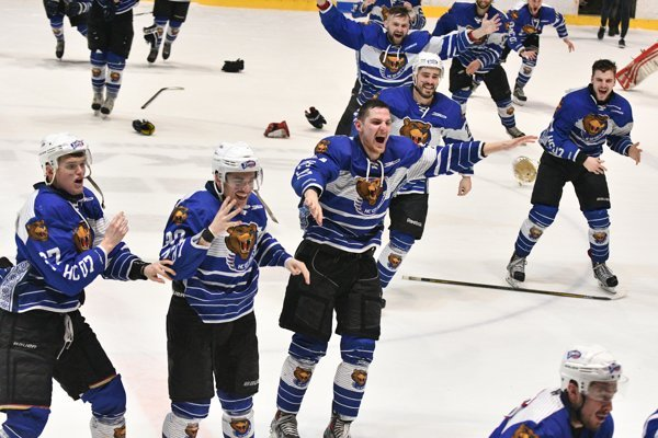 Hokejisti Detvy vyhrali Budiš I. ligu. Podarí sa im postúpiť do elitnej súťaže?