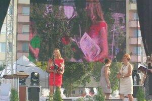 Ocenenie primátorkou Lučenca v roku 2015.