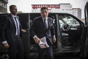 Premiér Robert Fico na pracovnom sneme strany Smer v Bratislave predstavil druhý sociálny balíček.
