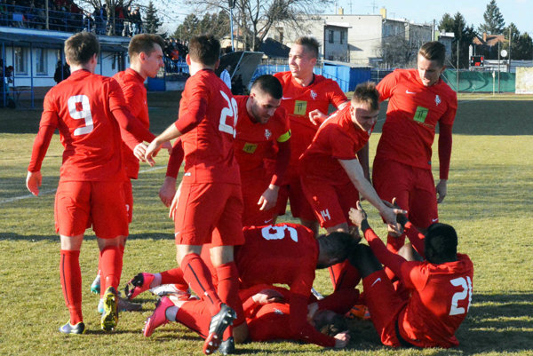 Futbalisti Serede sa tešili z tretej jarnej výhry.