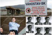 Vľavo Juraj Široký na fotografii z februára 2016, vpravo na snímke z personálneho spisu ŠtB v Ústave pamäti národa.
