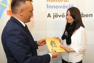 Malinová Žáková vo štvrtok prijala maďarské občianstvo.