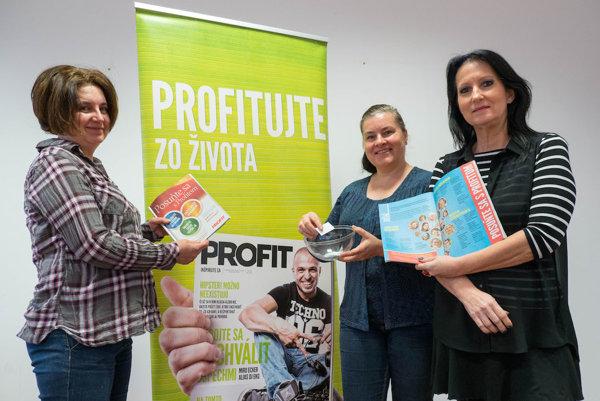 Žrebovanie súťaže Posuňte sa s Profitom 2017