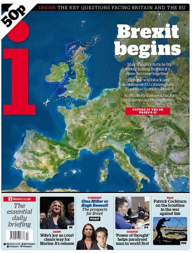 Brexit začína, píše denník i z dielne redakcie Independentu.