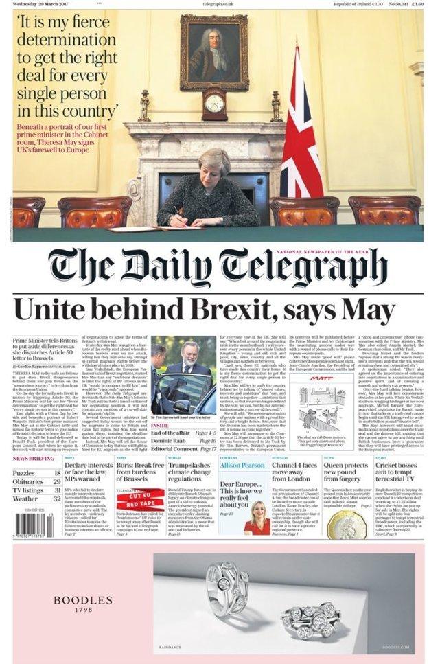 Theresa Mayová viackrát zdôraznila, že brexit by mal Britov spájať, nie rozdeľovať.