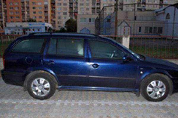 Jedno zo štrnástich áut, ktoré zlodeji ukradli.