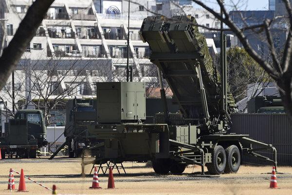 Japonská protiraketová obrana, ktorá je reakciou na severokórejské testovanie zbraní s jadrovým potenciálom.