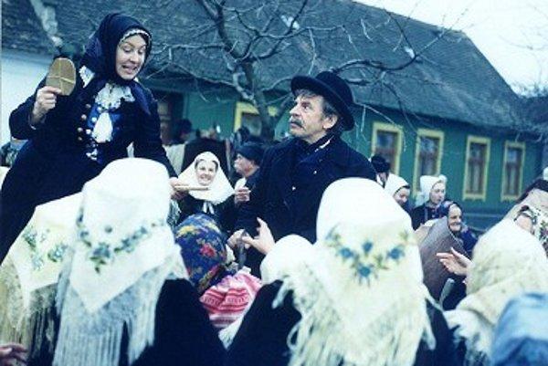 K známym figliarom patril aj sváko Ragan v podaní herca Jozefa Kronera.