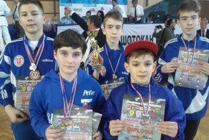 Mladí karatisti KK Zvolen