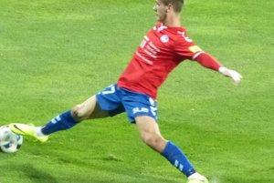Autor jediného gólu Miloš Kratochvíl.