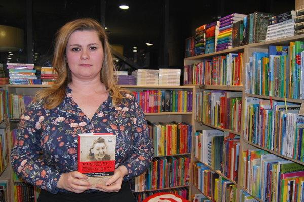 Veronika Homolová Tóthová, autorka knihy Mengeleho dievča.