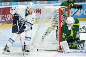 Hokejisti Nitry strelili v prvom zápase Žiline päť gólov.