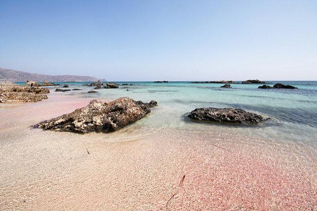 Pláž Elafonisi, Chania.