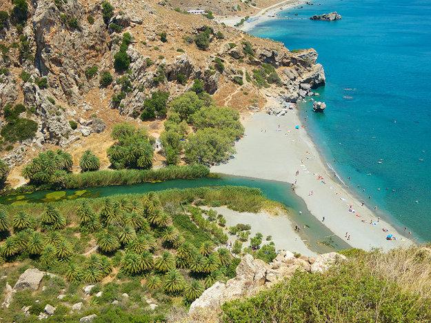 Na Kréte nájdete rôznorodé prírodné scenérie.