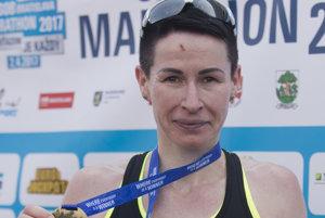 Sylvia Šebestian so zlatou medailou.