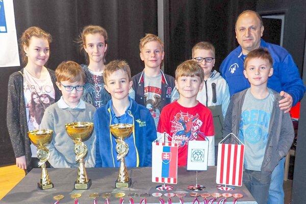 Výprava Liptovskej šachovej školy.