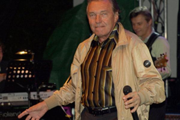 Gottovo vystúpenie trvalo v Prievidzi takmer dve hodiny.