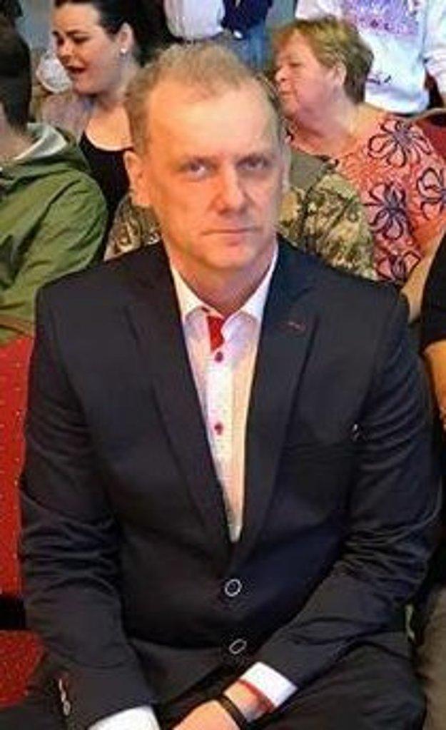 Hlavný organizátor podujatia Martin Mucha
