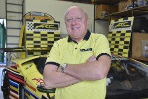 Automobilový pretekár Miroslav Konôpka dosiahol skvelý úspech.