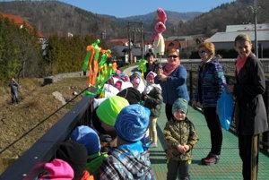 Deťom sa podujatie páčilo.