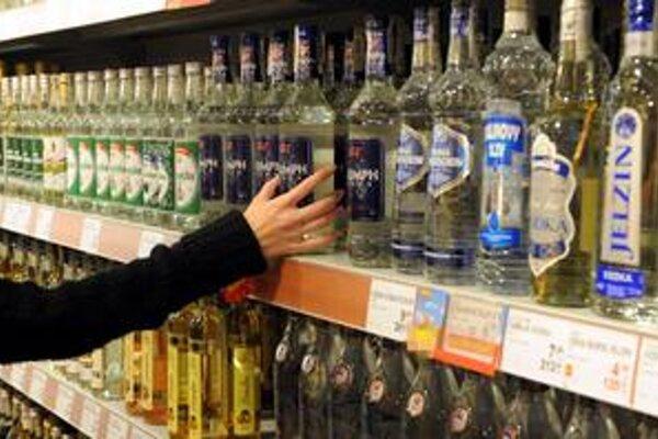 Muž ukradol dve fľaše alkoholu v hodnote 2,08 €.