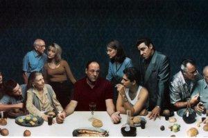 Ani Sopranovci sa nevyhli pokušeniu napodobniť slávnu fresku.