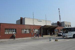 Železničná stanica v Trenčíne.