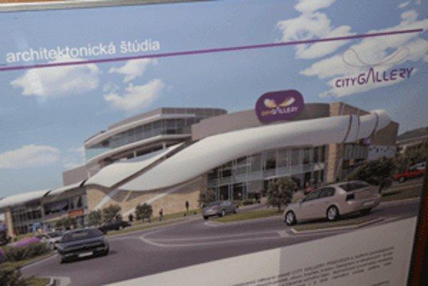 Architektúra City Gallery sa prispôsobila dopravnej situácii.