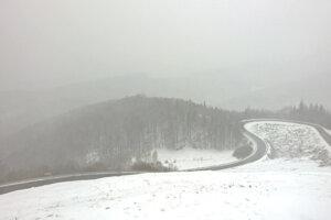 Horský priechod Dobšinský kopec.
