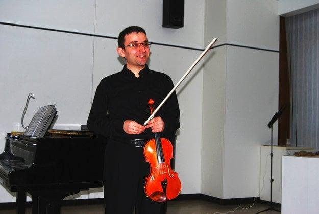 Farhad Ashumov po vystúpení vNovom Meste nad Váhom.