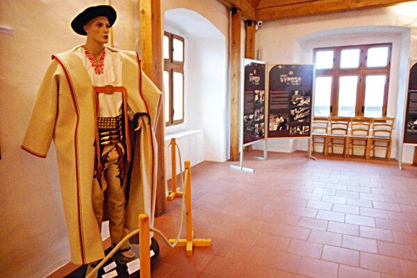 Návštevníci nájdu zaujímavosti zo života Valachov na 24 informačných baneroch.
