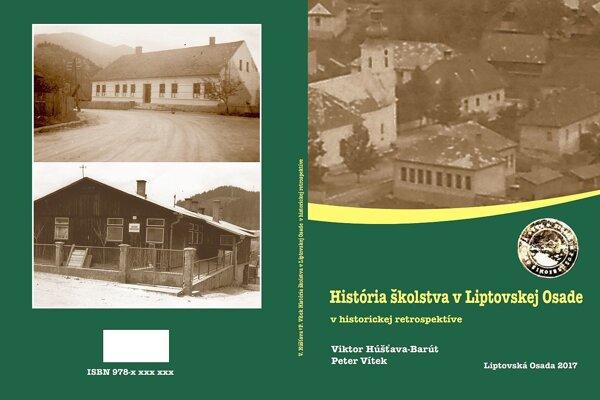 Obálka knihy o školstve v Liptovskej Osade.