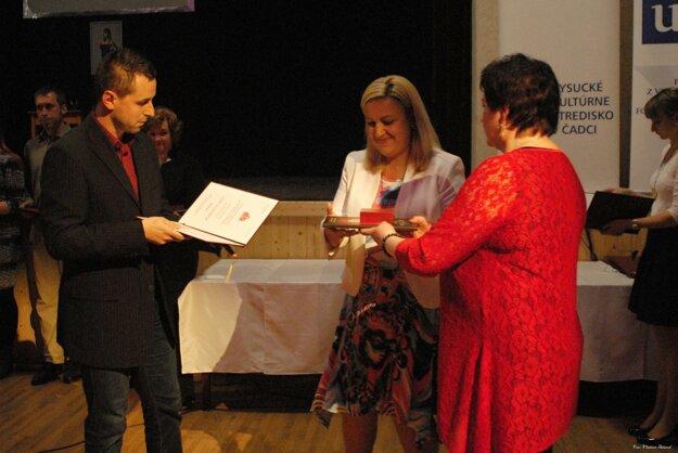 Pamätnú medailu J. Palárika udelili aj redakcii MY Kysucké noviny.