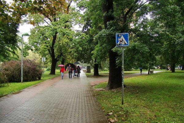 Park Janka Kráľa.