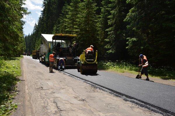 Cestári budú rekonštruovať vo všetkých župných regiónoch.