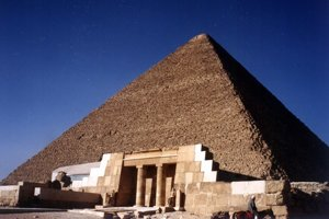 Cheopsova (Chufuova) pyramída.