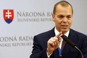 Vedúci Kancelárie NR SR Daniel Guspan.