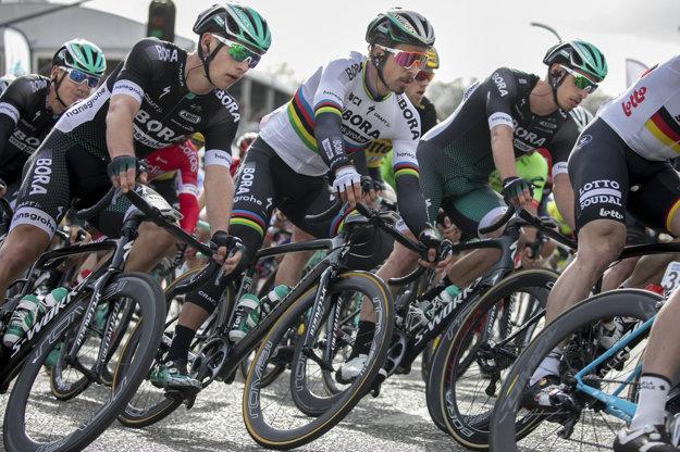 Najbližšie obdobie strávi Peter Sagan s tímom Bora.
