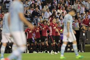 Futbalisti Manchestru United zvíťazili v úvodnom semifinálovom súboji Európskej ligy na pôde Celty Vigo 1:0.