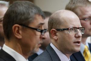Premiér Sobotka možno vyzve ANO, aby úplne odišlo z vlády.