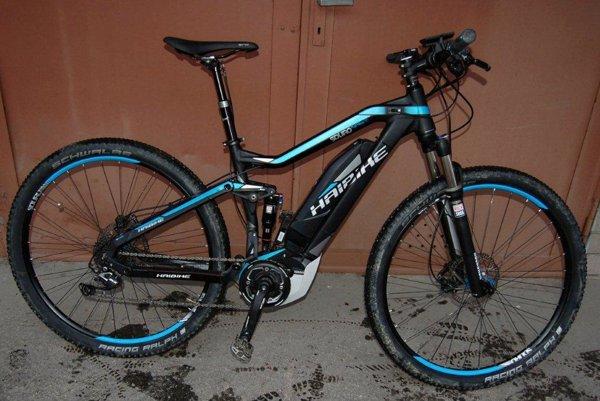 Jeden zo zaistených bicyklov.