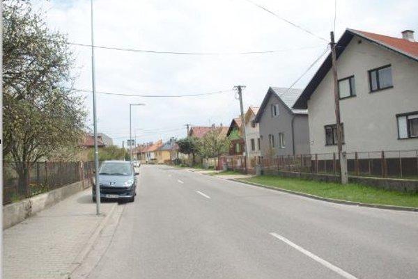 Borbisova ulica vsúčasnosti.
