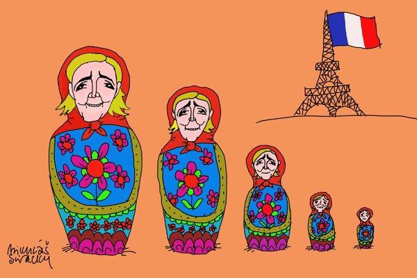 Ruské suvenír z Paríža (Sliacky)