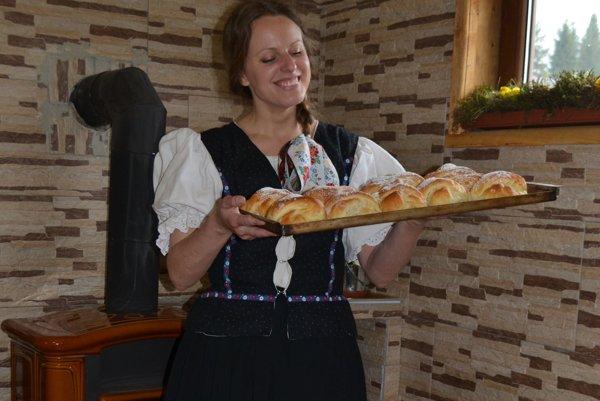 Terézia Falťanová a jej muránske buchty.