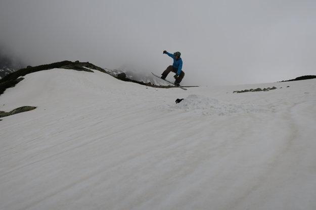 Zabaviť na horách sa dá hocijako.