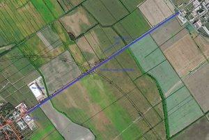 Trasa by mala ísť po pravej strane cesty smerom do Dusla.