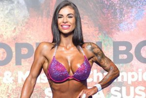 V kategórii welnes fitnes prekvapila Nikol Klimová.