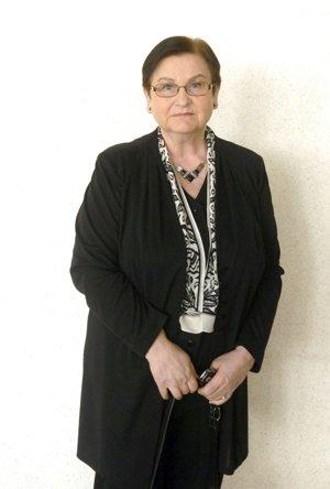 Viera Sudzinová, poslankyňa Juhu.